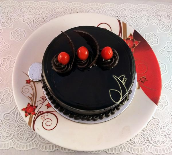 Dark Chocolate Cherry Cake cake delivery Delhi