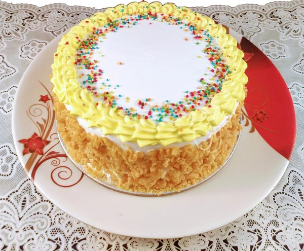 Butter Scotch Crunchy Cake cake delivery Delhi