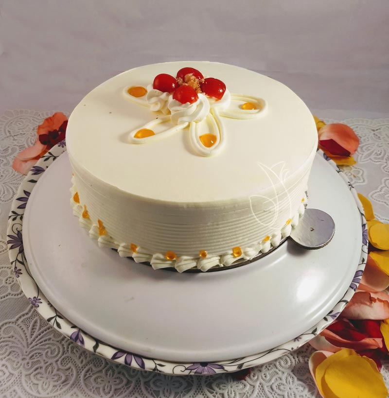 Plain Butter Scotch Cake  cake delivery Delhi