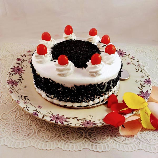 Black Forest Chocochip Cake  cake delivery Delhi
