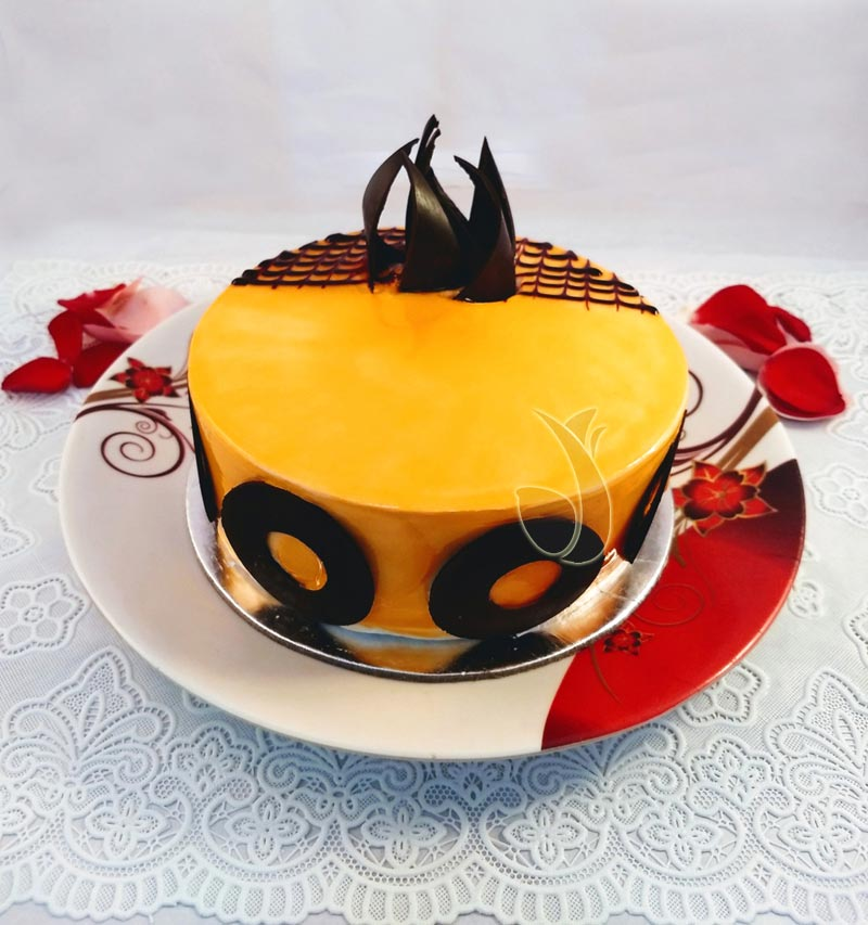 Mango Choco Bar Cake cake delivery Delhi