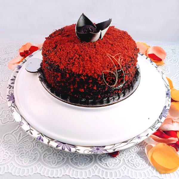 Red Velvet Choco Bar Cake cake delivery Delhi