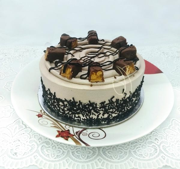 Chocolate Snicker Cake cake delivery Delhi