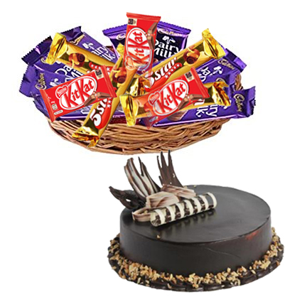 Mix Chocolates & Chocolate Cakes cake delivery Delhi