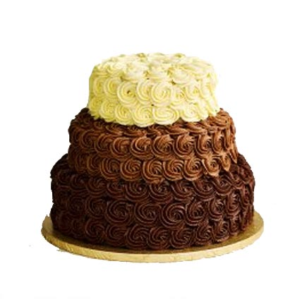 5Kg 3 Tier Wedding Cake cake delivery Delhi
