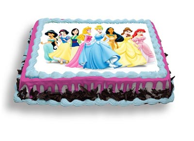 1Kg Cinderella Photo Cake cake delivery Delhi
