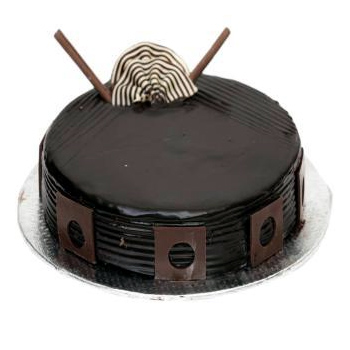 Round Dark Chocolate Cake cake delivery Delhi