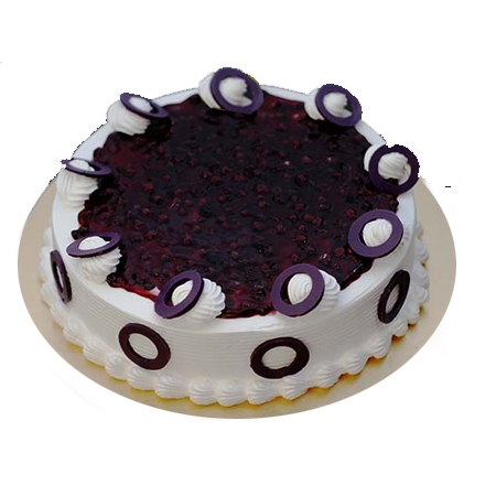 Round Blueberry Cake cake delivery Delhi