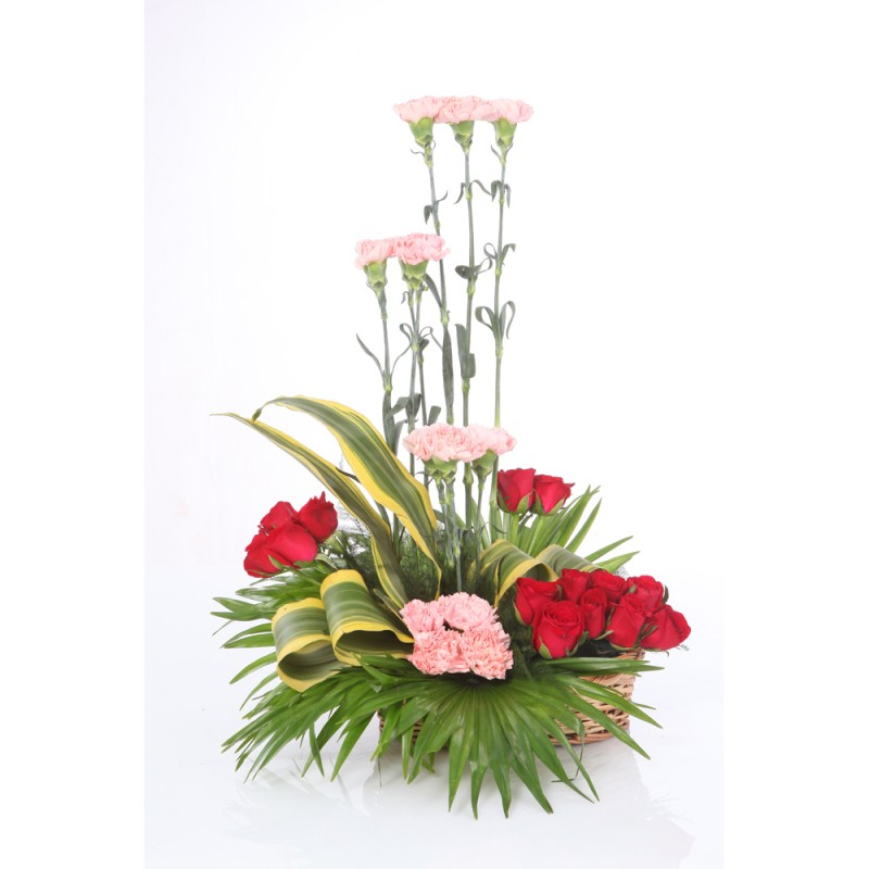 30 Mix Flower Arrangement  cake delivery Delhi