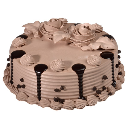 Plain Chocolate Cream Cake cake delivery Delhi
