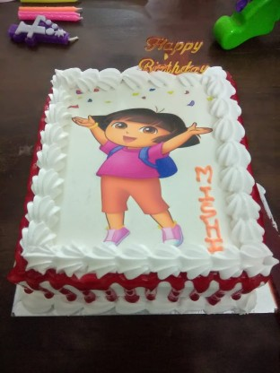1KG Photo Dora Photo Cake cake delivery Delhi