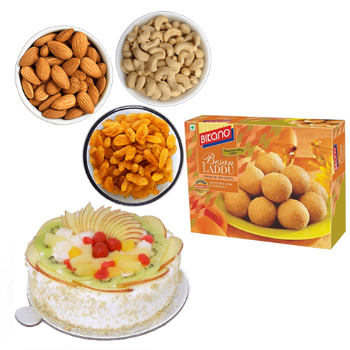Cake & Dry Fruits & Sweets cake delivery Delhi