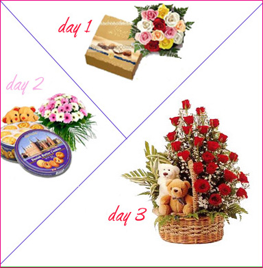 3 Days Package cake delivery Delhi