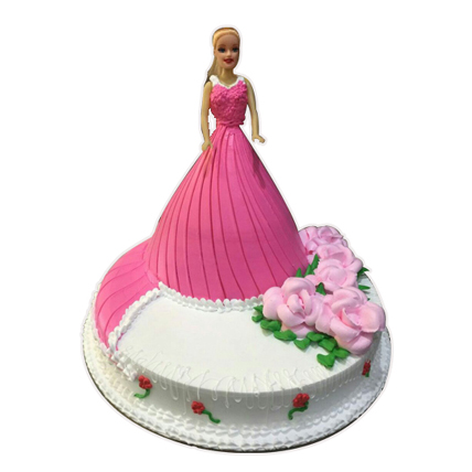 3kg Barbie Doll Cake cake delivery Delhi