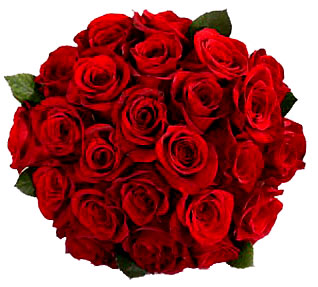 Bunch of 20 Red roses. cake delivery Delhi