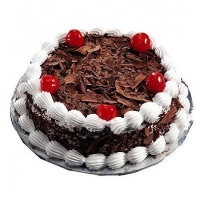 1kg Eggless Black Forest Cake cake delivery Delhi