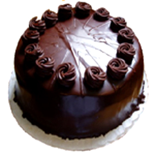 1kg Dark Chocolate Cake -Cake delivery to Gwalior
