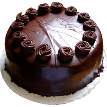 1/2 kg Chocolate cake EGGLESS-Cake delivery to Gwalior