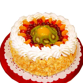 1kg Fresh Fruit Cake from Five Star Bakery