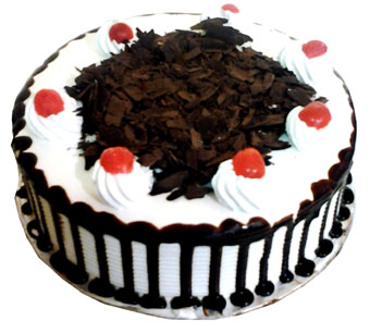 1kg Black Forest Cake -Cake delivery to Gwalior