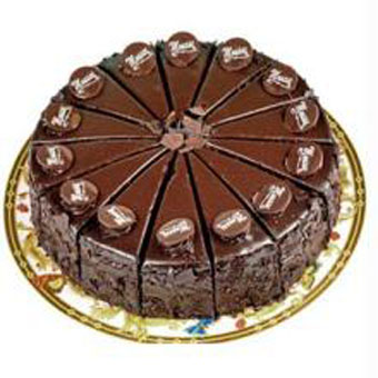 1kg Rich Chocolate cake (Limited cities) cake delivery Delhi