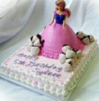 3kg Doll Cake -Cake delivery to Gwalior