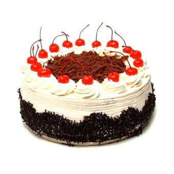 1kg Eggless Black Forest Cake from Five Star Bakery cake delivery Delhi