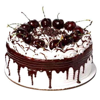 1kg Black Forest Cake from Five Star Bakery -Cake delivery to Gwalior