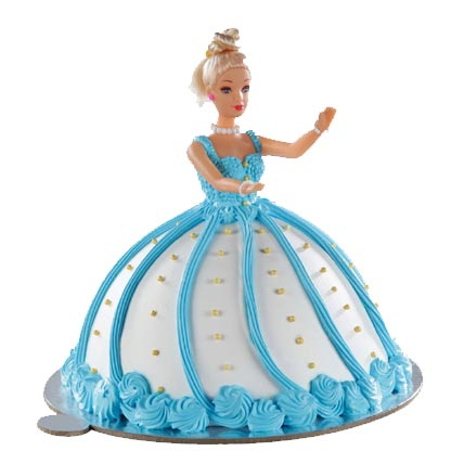 2kg Blue Doll Cake cake delivery Delhi