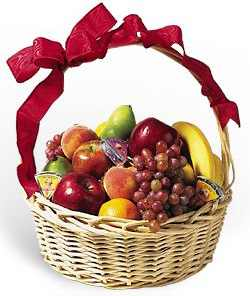 Mix Fruits Basket small (weight 3kg) cake delivery Delhi