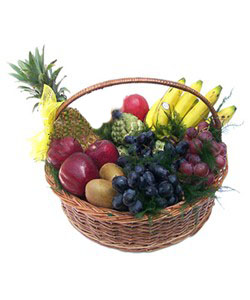 Mix Fruits Basket Medium (weight 4kg) cake delivery Delhi