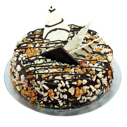 Nutty Crunchy Chocolate Cake cake delivery Delhi