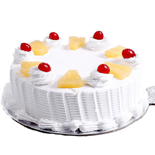 Pineapple cake cake delivery Delhi