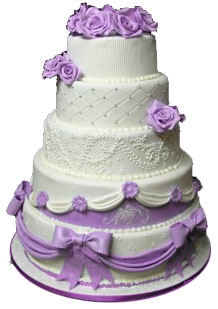 Wedding Cake To India